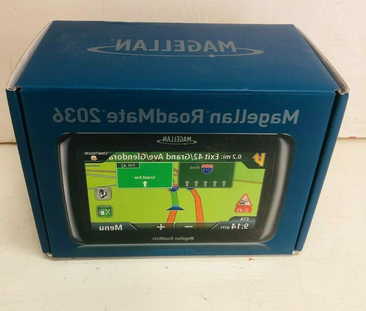 roadmate 2036 portable gps navigator