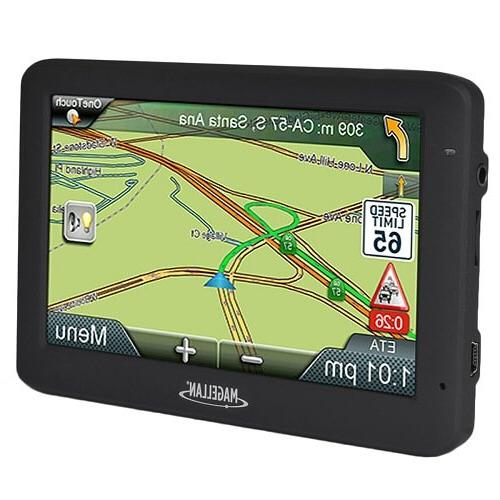 """Magellan 2535T-LM 4.3"""" Touch Vehicle GPS w/Free American Lifetime Maps"""