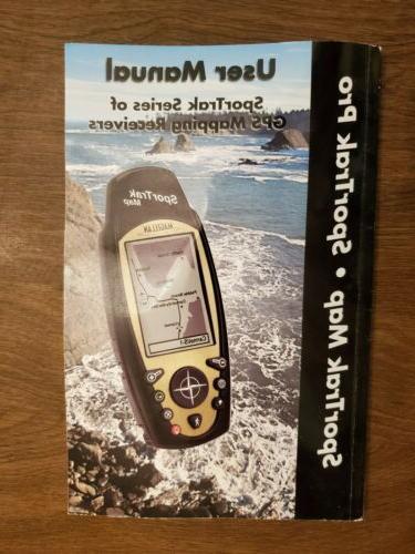 Magellan SporTrak GPS w/DVD, leather 12 adaptor, Base