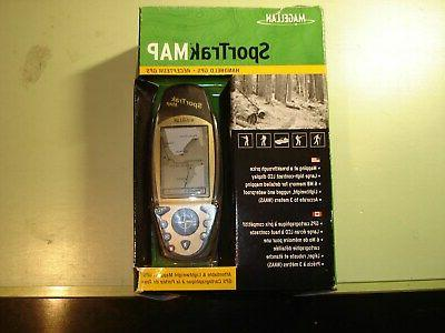 sportrak map waterproof hiking gps