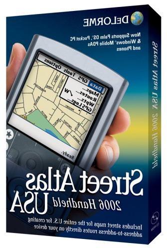 street atlas usa 2006 handheld