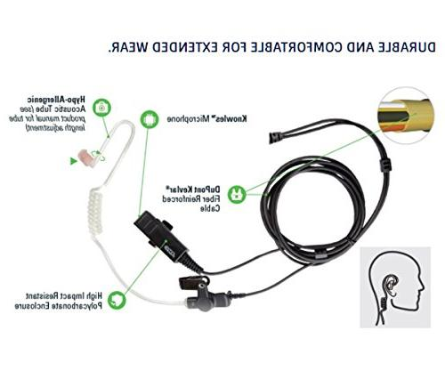 ARC T23002 Earpiece TK TH Two Radios