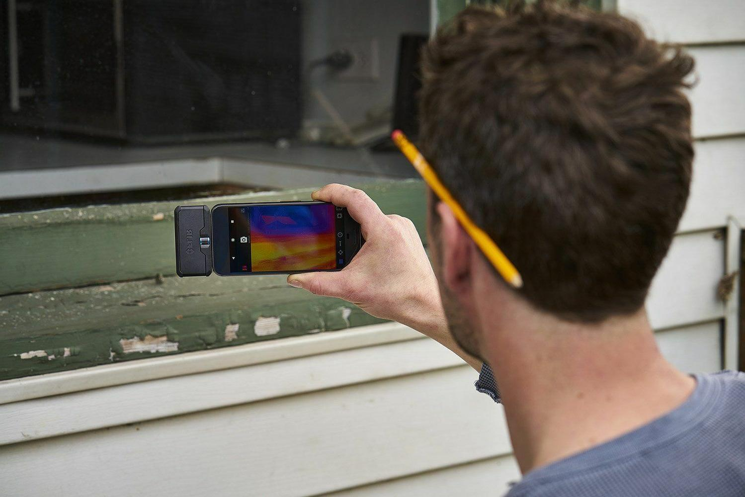 Flir Thermal Camera Attachment for iOS