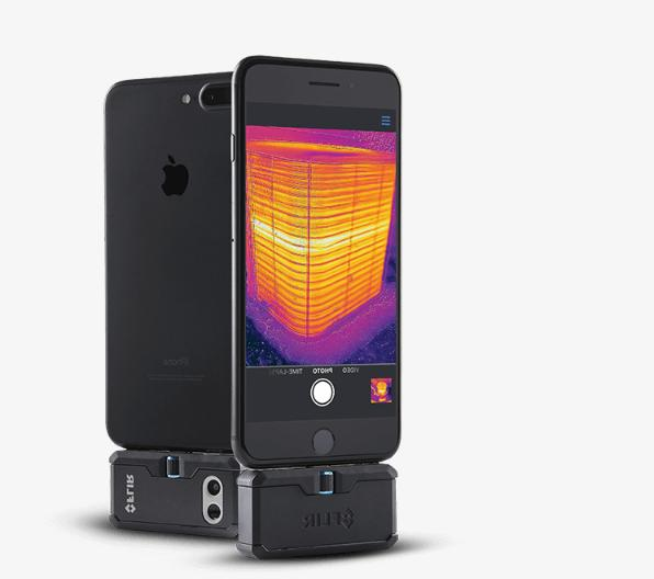 Flir Thermal Imaging Camera Attachment for Android iOS