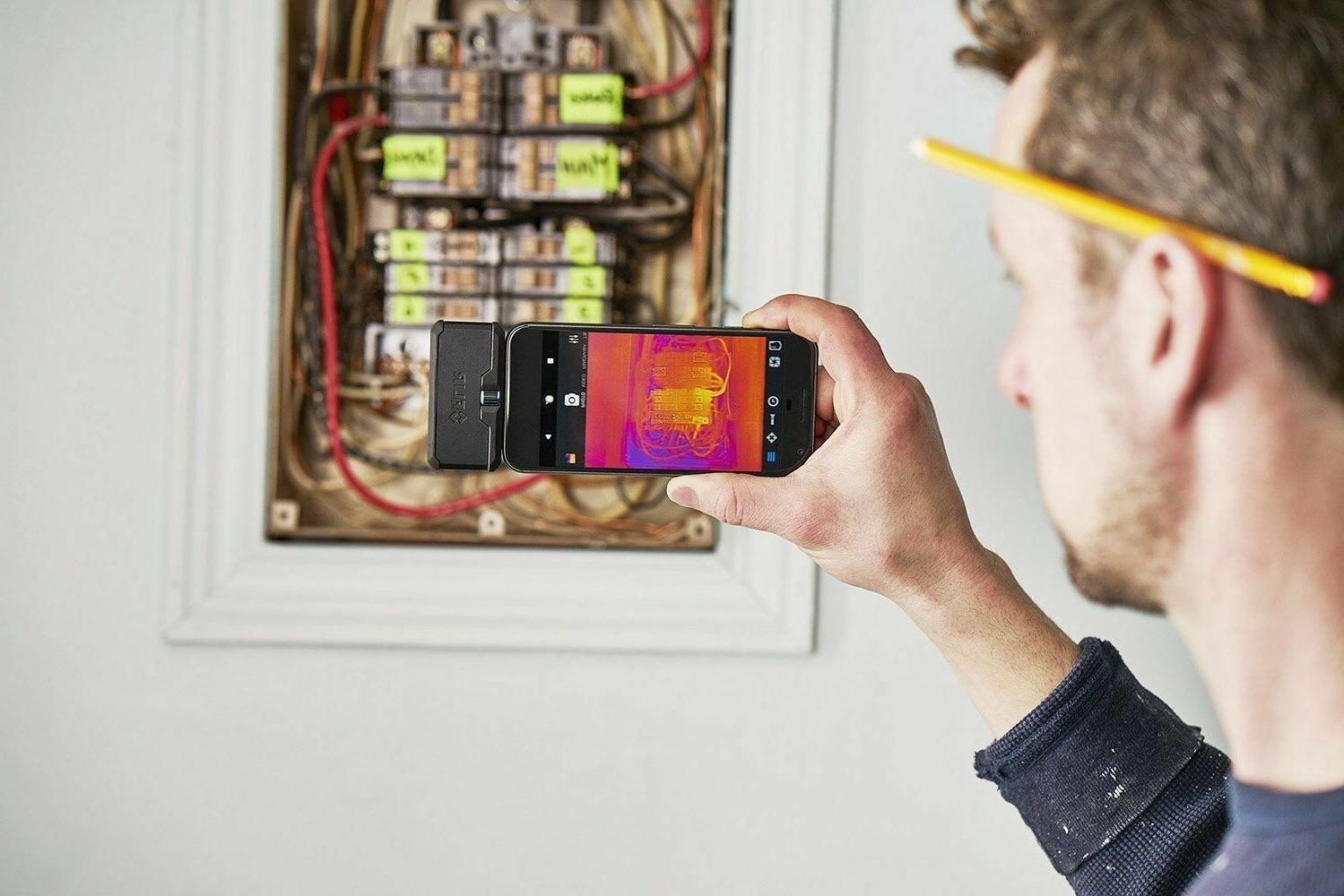 Flir Thermal Attachment Android iOS Phones