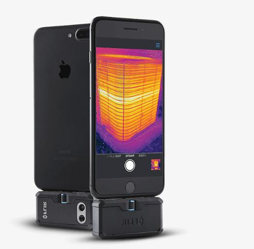 thermal imaging camera attachment for android
