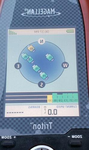 Magellan 300 Display Handheld Navigation Geocaching Compass