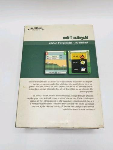Magellan Triton Display GPS Geocaching Compass