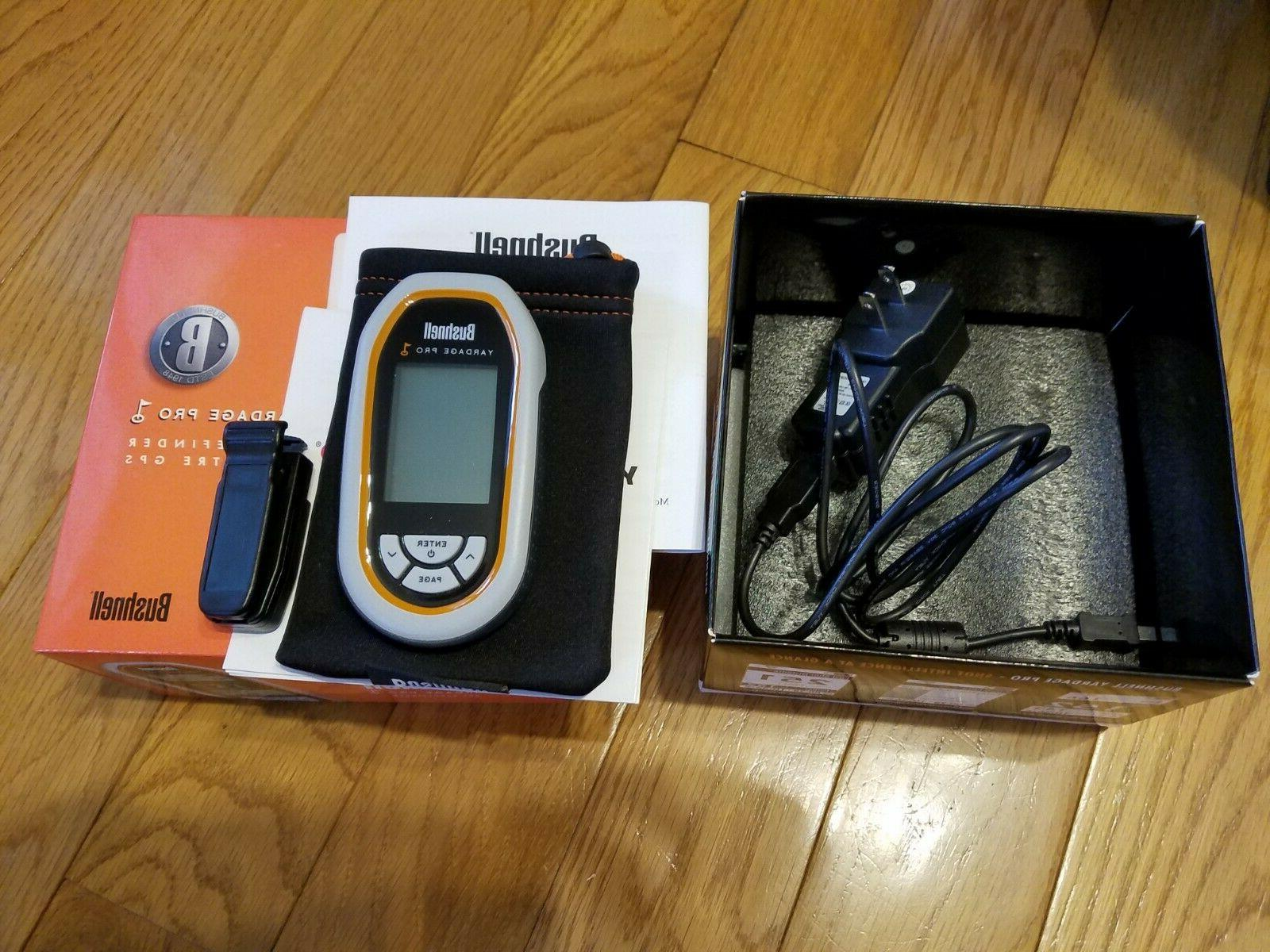 Bushnell Yardage Pro GPS