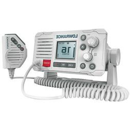 Lowrance Link-6 VHF Marine Radio w/DSC - White