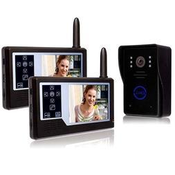 ALEKO LM163D Wireless Video Door Phone Intercom System With