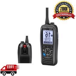 ICOM M93D HANDHELD VHF MARINE TRANSCEIVER W/GPS & DSC BUILT-