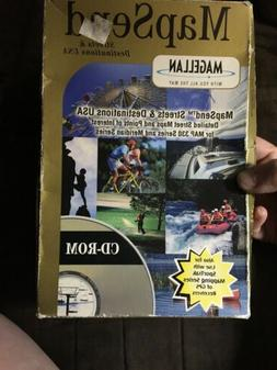 Magellan MapSend CD for Meridian and MAP330 Series GPS Handh