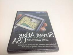 Delorme Mapping Street Atlas 2005 For Handhelds New Sealed
