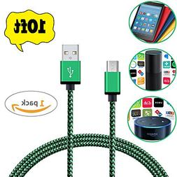 Micro USB Charger Cable for Amazon Echo Dot,Fire HD 8 Tablet