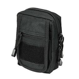 Tactical MOLLE Utility Black Pouch Fits Handheld GPS GARMIN