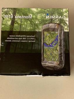 Garmin Montana 610t Camo GPS GLONASS Handheld TOPO US 100K m
