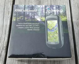 GARMIN MONTANA 680t Handheld GPS+Glonass, 8MB Camera, 100K T
