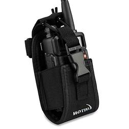 LUITON 3 in1 Multi-Function Radio Holder Holster Case Pouch
