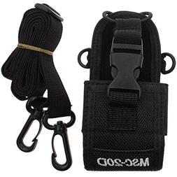 AOER New Multi-function Black MSC-20D Nylon Bag Pouch Holste