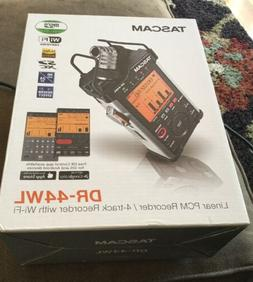 New Tascam DR-44WL Portable Handheld Linear PCM 4-Channel Au