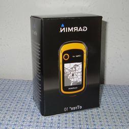 NEW GARMIN eTREX 10 WORLDWIDE HANDHELD WATERPROOF GPS NAVIGA