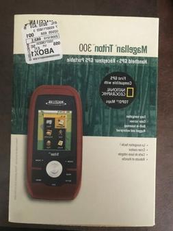 NEW Magellan Triton 300 Handheld GPS Navigator Unit portable