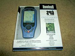 Bushnell ONIX 350 Handheld GPS Navsystem New