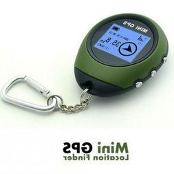 Outdoor Mini Handheld GPS Navigation Location Finder Dot Mat