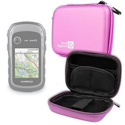 DURAGADGET Premium Quality Pink Hard EVA Shell Case with Car