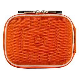 Vangoddy Protective Nylon Orange EVA Hard Shell Case for Gar