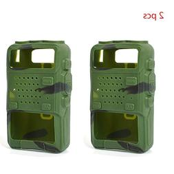 2pack Protective Soft Case Silicone Handheld Holster for Bao