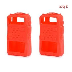 2 Pack Radio Protective Case Handheld Cover Holster for Baof
