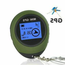 Receiver Handheld GPS Location Finder USB Rechargeable With
