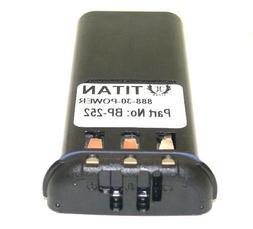 Replace Icom BP252 Li-ion Battery Pack For M34/36 18 Month W