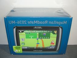Magellan RoadMate 2036-MU car gps unit  US-Canada-PR New Sea