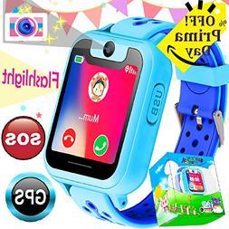 Kid Smart Watch Phone GPS Tracker Boys Girls Game Smartwatch