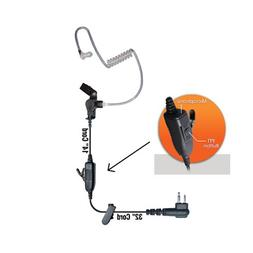 Klein Star 1-Wire Earpiece for Motorola 2-Pin CLS1110 1410 C