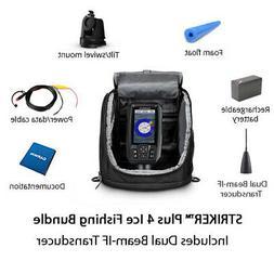 Garmin STRIKER Plus 4 Ice Fishing Bundle w/Dual Beam-IF Tran